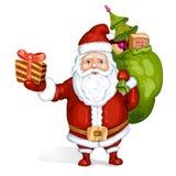 Cartoon Santa Claus Royalty Free Stock Images