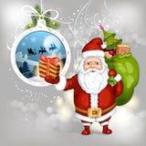 Cartoon Santa Claus Royalty Free Stock Photos