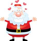 Cartoon Santa Claus Hug Royalty Free Stock Image