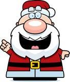 Cartoon Santa Claus Idea Stock Image