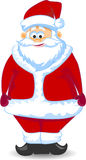Cartoon Santa claus,vector Royalty Free Stock Photos