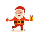 Cartoon Santa Claus Royalty Free Stock Photo