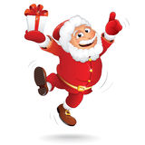 Cartoon Santa Clause Royalty Free Stock Photos
