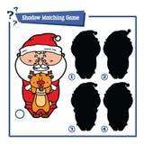 Cartoon Santa game Stock Photography