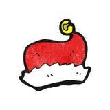 cartoon santa hat Stock Photo