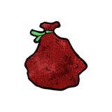 Cartoon santa sack Royalty Free Stock Images