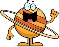 Cartoon Saturn Idea Stock Images