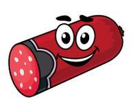 Cartoon sausage Stock Images