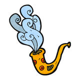 Cartoon saxophone Royalty Free Stock Photos