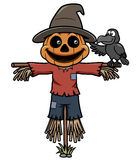 Cartoon scarecrow Stock Photos