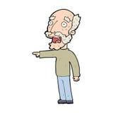 Scared cartoon man stock vectors illustrations clipart