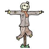 Cartoon scary scarecrow Stock Photos