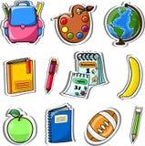 Cartoon school bag,vector. Illustration picture Royalty Free Stock Photo