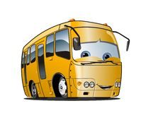 Cartoon School Bus Royalty Free Stock Photo