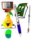 Cartoon school illustration Royalty Free Stock Photos