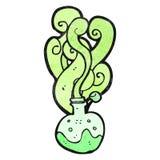 cartoon science potion Stock Photos