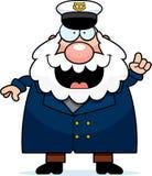 Cartoon Sea Captain Idea Stock Images