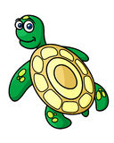Cartoon sea turtle character Stock Photo