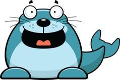 Cartoon Seal Happy Royalty Free Stock Photos