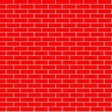 Cartoon seamless flat brick wall texture. Vector illustration vector illustration
