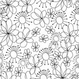 Cartoon seamless pattern Stock Photo