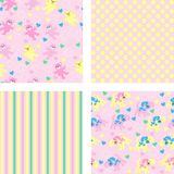 Cartoon seamless pattern for children background Stock Photography