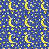 Cartoon seamless pattern Royalty Free Stock Image