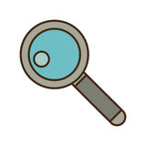 Cartoon search web technology find. Illustration eps 10 Royalty Free Stock Images