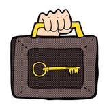 cartoon security case Stock Photos