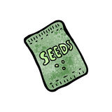 cartoon seeds Royalty Free Stock Photos
