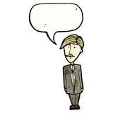 Cartoon sensible businessman Royalty Free Stock Photography