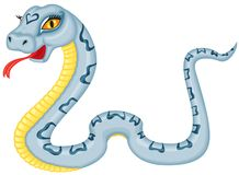 Cartoon serpent Royalty Free Stock Photo