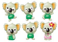 Cartoon set 0133 Royalty Free Stock Images