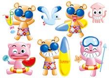 Cartoon set 070 Stock Images