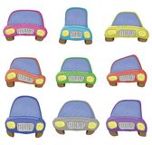Cartoon, set cars Stock Image