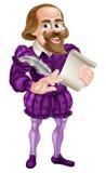 Cartoon Shakespeare Royalty Free Stock Photo