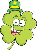 Cartoon shamrock Royalty Free Stock Photography