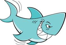 Cartoon shark Stock Photography