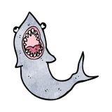 cartoon shark Royalty Free Stock Photo