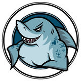 Cartoon shark Royalty Free Stock Images