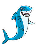 Cartoon shark Stock Photography