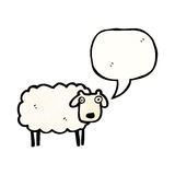 Cartoon sheep Royalty Free Stock Image