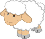 Cartoon Sheep Royalty Free Stock Photography
