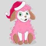Cartoon sheep Stock Photos