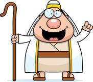 Cartoon Shepherd Idea Royalty Free Stock Image