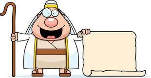 Cartoon Shepherd Sign Stock Images