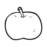 cartoon shiny apple Royalty Free Stock Photos