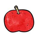 cartoon shiny apple Stock Photography