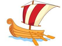 Cartoon Ship Royalty Free Stock Image