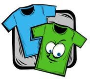 Cartoon shirt Stock Images